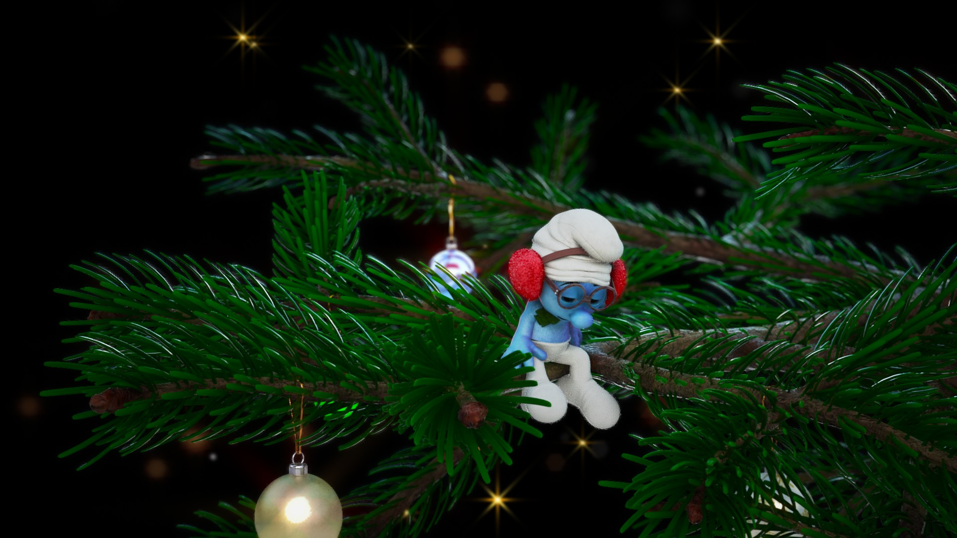 The Christmas Smurf